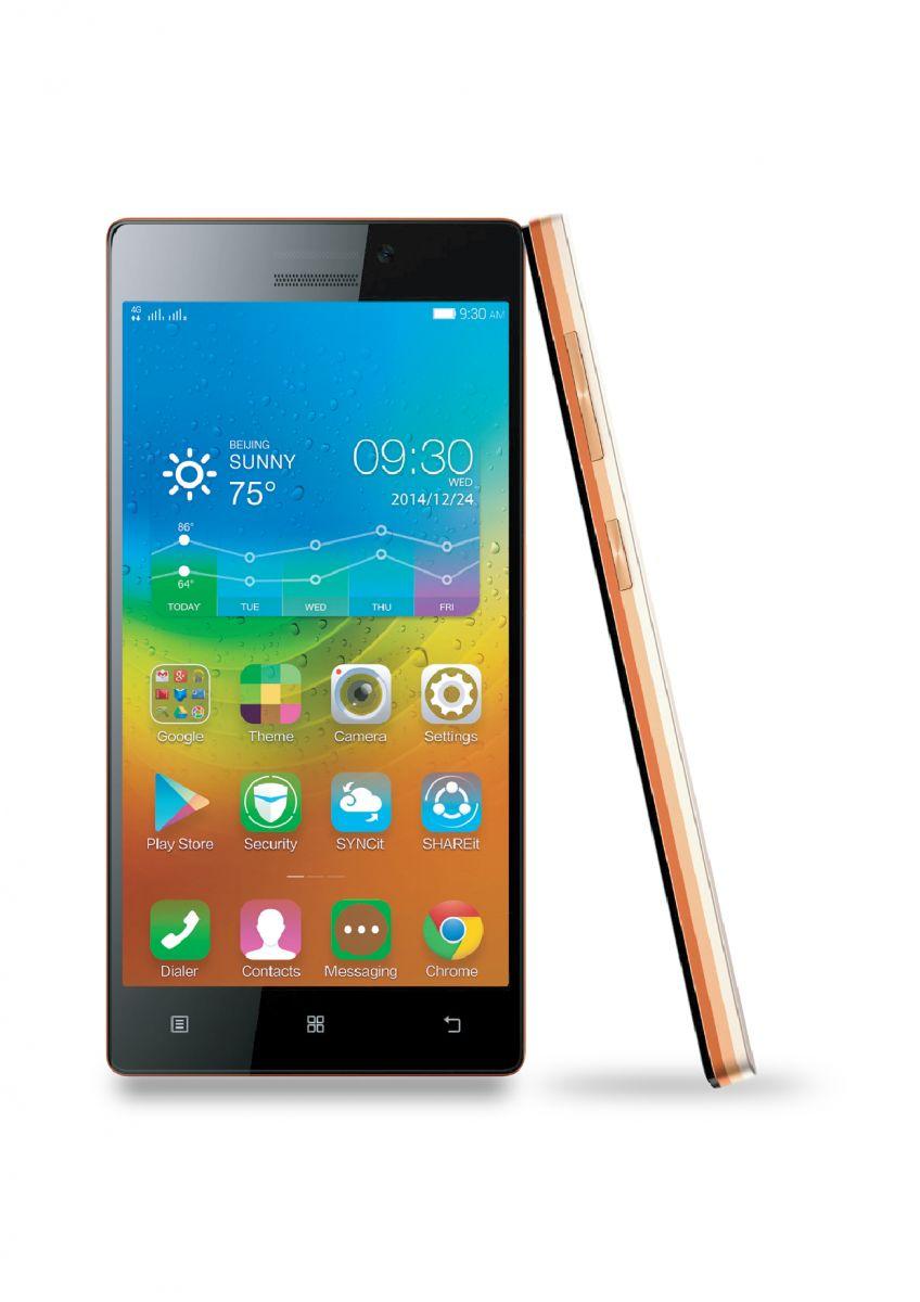 LenovoPhone 01 เลอโนโวเปิดตัวเลอโนโว ไวบ์ เอ๊กซ์ 2 สมาร์ทโฟนเหนือชั้น โดดเด่นเน้นดีไซน์