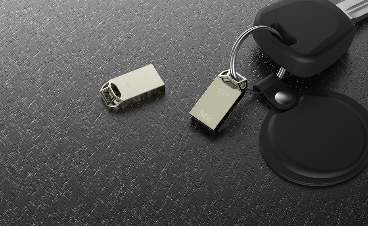 T50 image SP/Silicon Power เปิดตัวแฟลชไดร์จิ๋ว USB 2.0 รุ่นล่าสุด Touch T50