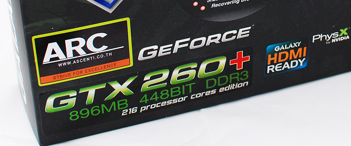 default thumb Review : Galaxy Geforce GTX260+