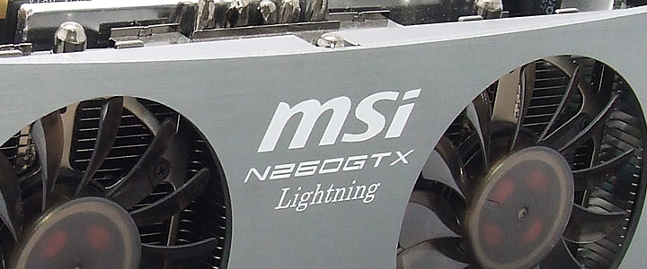 default thumb MSI GTX260 Lightning Black Edition