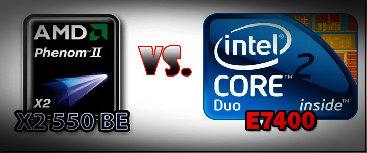 default thumb E-7400 VS Phenom II X2 550