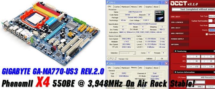 default thumb ระเบิดหัว PhenomII X2 550BE ไปกับ GIGABYTE GA-MA770-US3 REV. 2.0