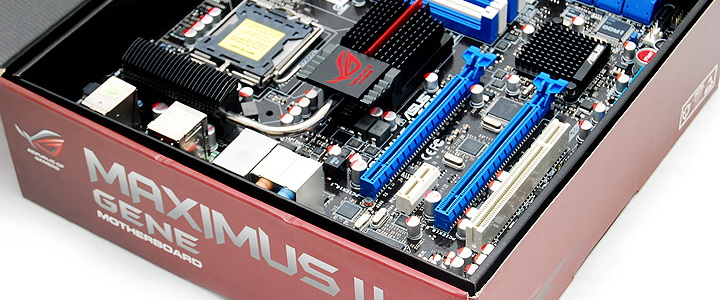 default thumb ASUS MAXIMUS II GENE Review