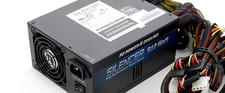 default thumb PC POWER & COOLING SILENCER 910W