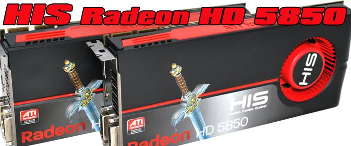 default thumb HIS Radeon HD 5850 1GB GDDR5 CrossfireX First Review