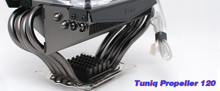 default thumb Review : Tuniq Propeller 120 CPU Cooler