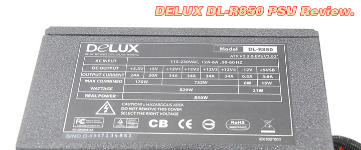 default thumb Review : DELUX DL-R850