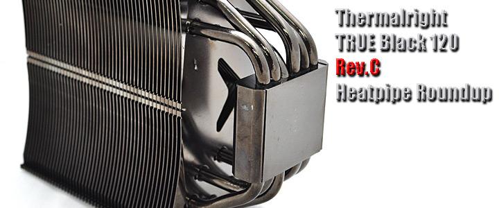 default thumb Thermalright TRUE Black 120 Rev.C : HEATPIPE ROUNDUP SERIES