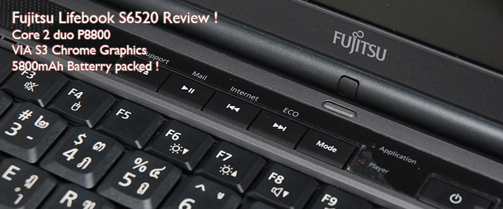 Review : Fujitsu Lifebook S6520