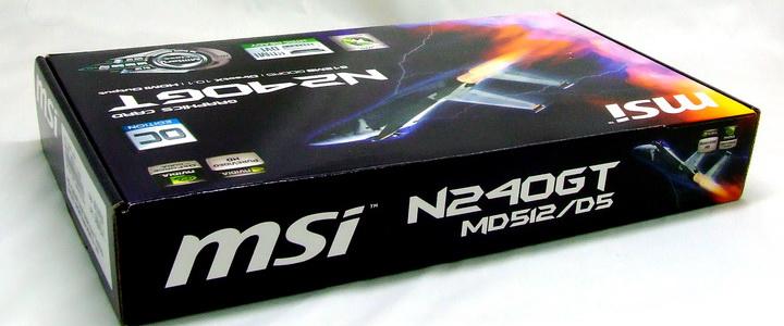 MSI N240GT OC Edition