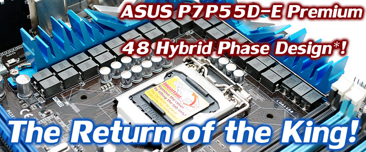 default thumb ASUS P7P55D-E Premium : Review