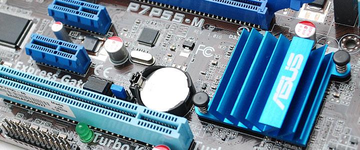 default thumb ASUS P7P55-M : Review
