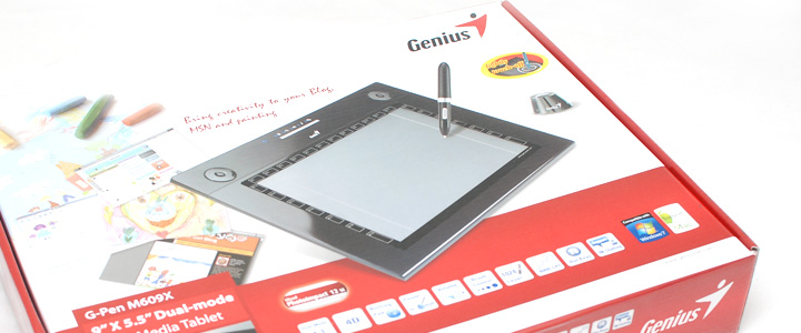default thumb Review : Genius G-Pen M609X