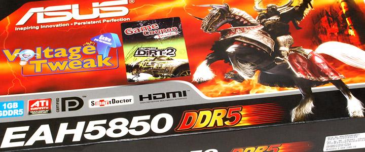 ASUS EAH5850 DDR5 Review