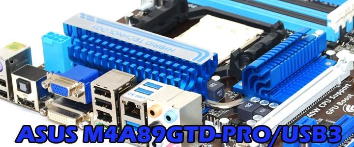 ASUS M4A89GTD-PRO/USB3 Motherboard Review