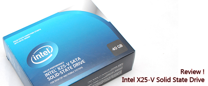 default thumb Review : Intel X25-V SATA Solid State Drive
