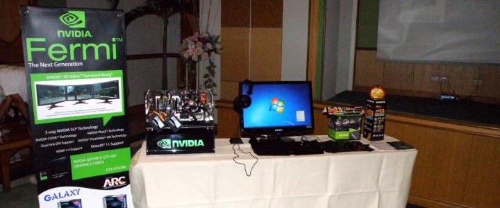"""ARC ร่วมกับ Nvidia จัดงานแถลงข่าวเปิดตัว """"FERMI"""""""