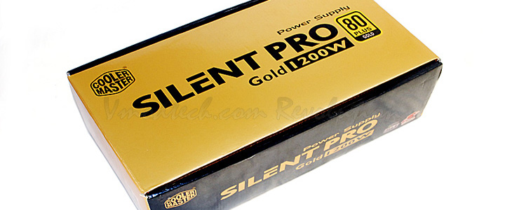 Cooler Master Silent Pro Gold 1200W Preview