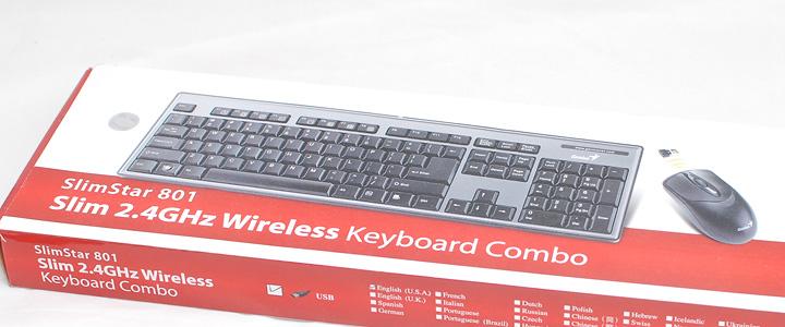 default thumb Review : Genius SlimStar 801 Wireless keyboard combo set