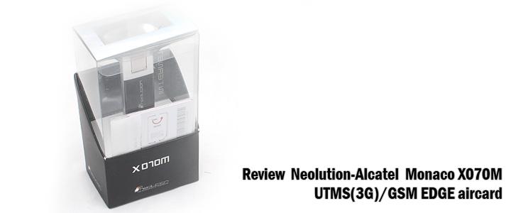default thumb Review : Neolution-Alcatel Monaco X070 aircard