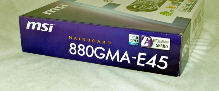 MSI 880GMA-E45 Review