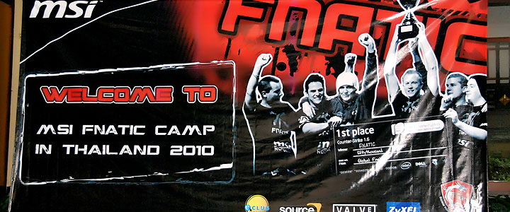default thumb Be A Pro  with MSI Fnatic Camp