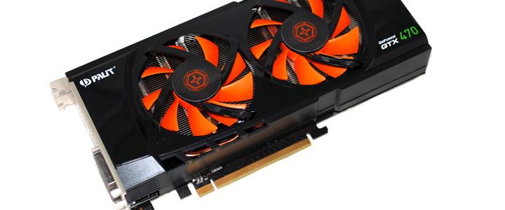 Palit Geforce GTX470 1280MB DDR5 Overclock Test
