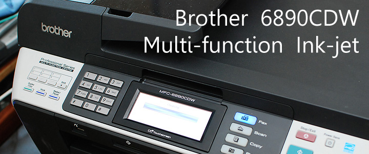 default thumb Review : Brother 6890CDW - Multi-function Ink-jet printer