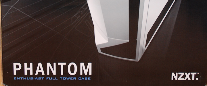 Review : NZXT Phantom Full tower case