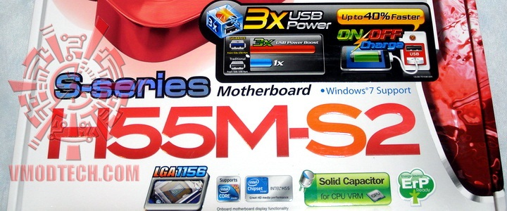 Gigabyte H55M-S2 Motherboard