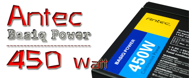 Antec VP450 Basiq Power [450w] : Review