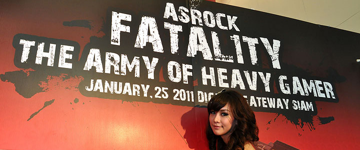 บรรยากาศงาน ASROCK FATAL1TY THE ARMY OF HEAVY GAMER