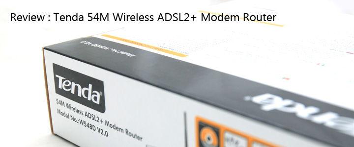 default thumb Review : Tenda W548D ADSL2+ Wireless router