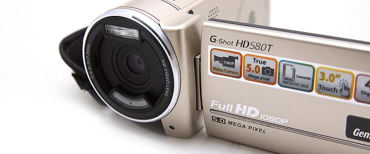 default thumb Review : Genius G-Shot HD580T Full HD camcorder