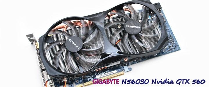 GIGABYTE N56GSO-1GI Winforce Nvidia GTX 560