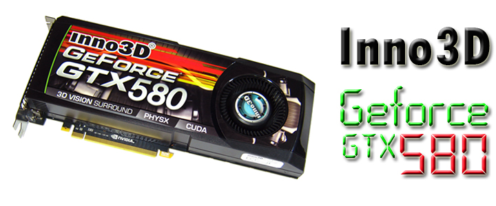 Inno3D GeForce GTX580 : Review