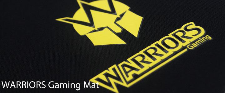 Warriors Gaming Mat
