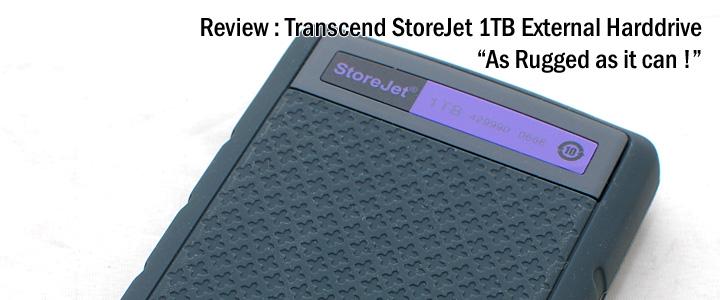default thumb Review : Transcend StoreJet 25H3 1TB USB3.0 External Harddrive