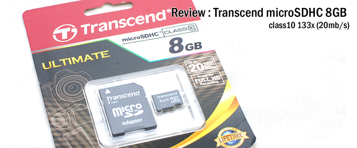 default thumb Review : Transcend microSDHC Ultimate 8GB (class10)