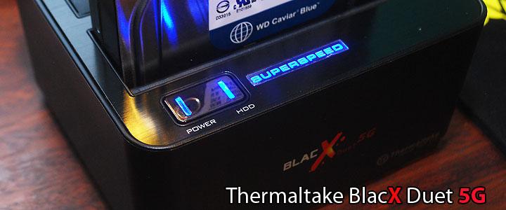 Thermaltake BlacX Duet 5G USB 3.0 HD Docking Station