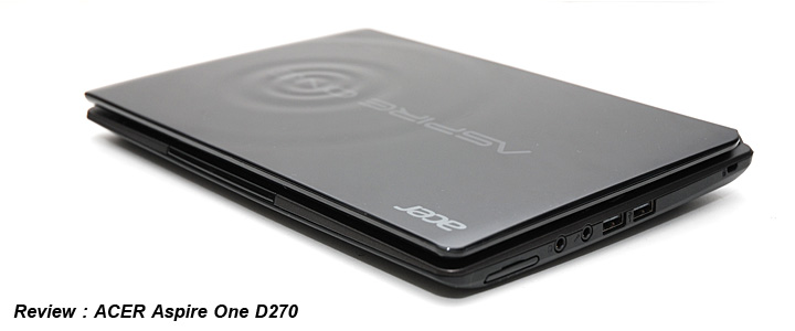Review : Acer Aspire One D270