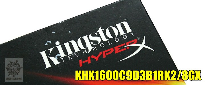 Kingston Hyper X Limited Edition 8GB 1600 CL9 Memory Review