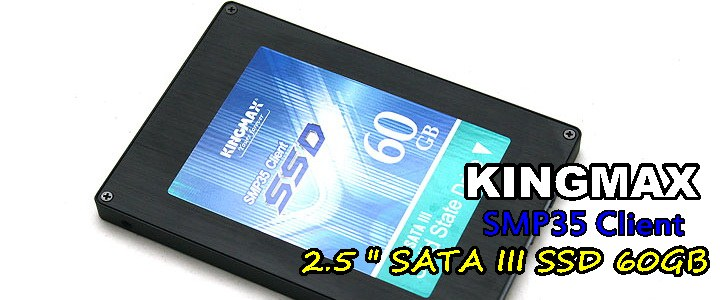 KINGMAX SMP35 Client SSD 60 GB SATA III Review