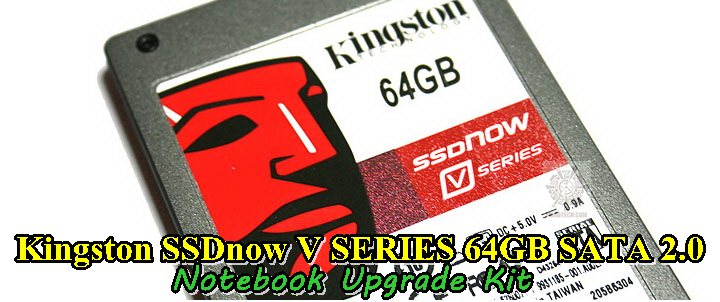 Kingston SSDnow V SERIES 64GB SATA 2.0  Notebook Upgrade Kit Review
