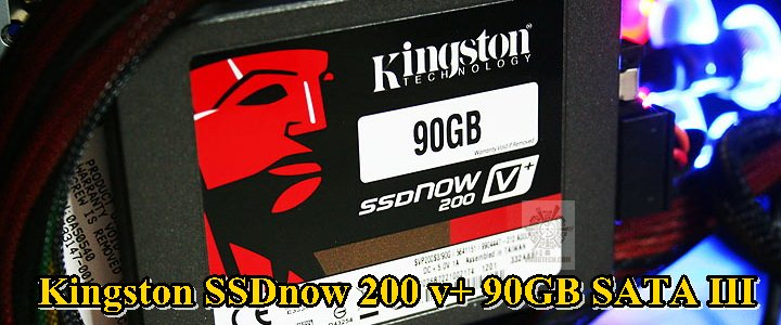 Kingston SSDnow 200 v+ 90GB SATA III Review