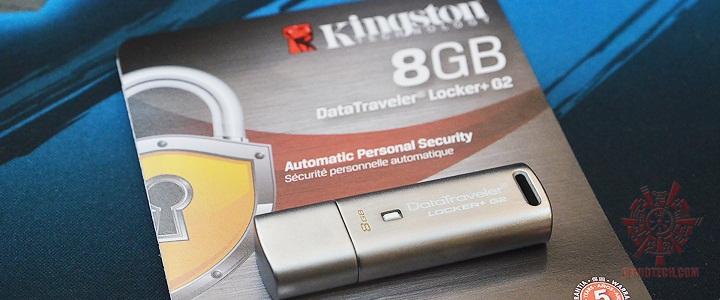 default thumb Kingston DataTraveler Locker+G2 8GB