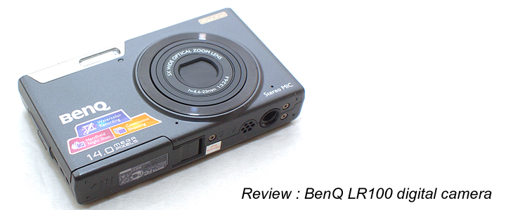 Review : BenQ LR100 digital camera