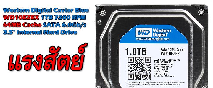 หน้าที่ 1 - Western Digital Caviar Blue WD10EZEX 1TB 7200 RPM 64MB Cache SATA 6.0Gb/s 3.5″ Internal Hard Drive Review | Vmodtech.com | Review, Overclock, ...