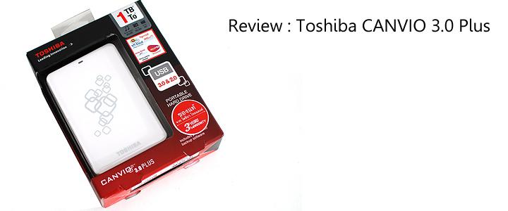 default thumb Review : Toshiba CANVIO 3.0 Plus 1TB