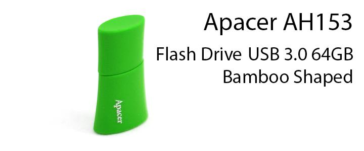 default thumb Apacer AH153 Flash Drive USB 3.0 64 GB